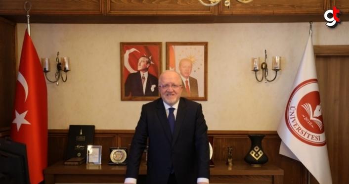 Rektör Mahmut Aydın'dan Malazgirt Zaferi mesajı