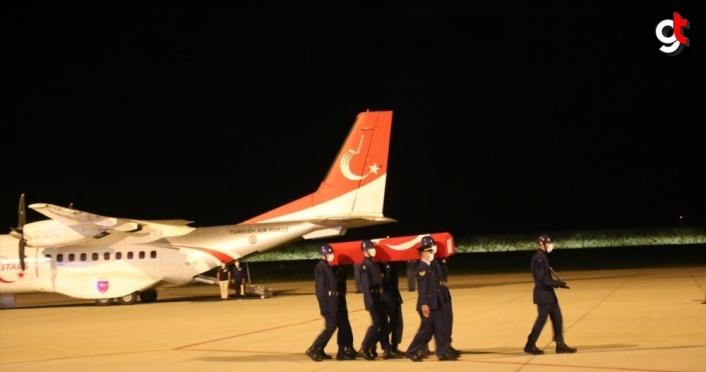 Şehit Uzman Çavuş Ceyhun Arslantürk'ün naaşı memleketi Ordu'ya getirildi