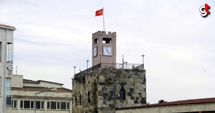 Sinop'ta 2 bin 500 yıllık tarihi surlar turizme kazandırılıyor