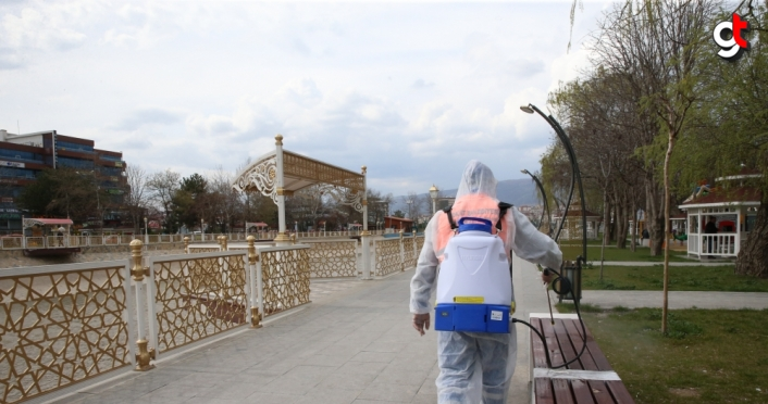 Tokat'ta dezenfekte çalışmaları