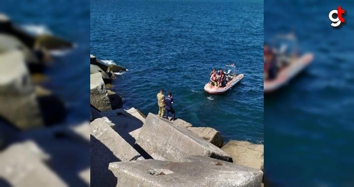 Zonguldak'ta denizde mühimmat bulundu