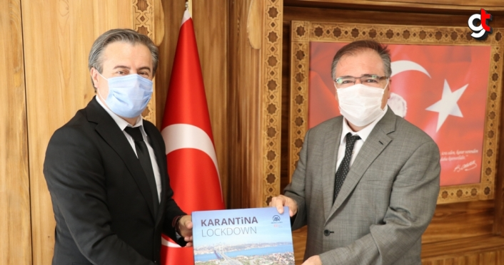 AA'dan Safranbolu Kaymakamı Türköz'e ziyaret