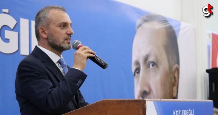 AK Parti Genel Başkan Yardımcısı Kandemir partisinin Ereğli ilçe kongresine katıldı:
