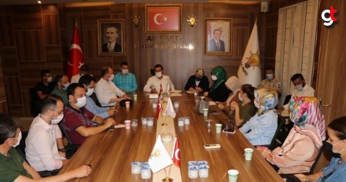 AK Parti İlkadım İlçe Başkanı Erbin, birim başkanlarını belirledi