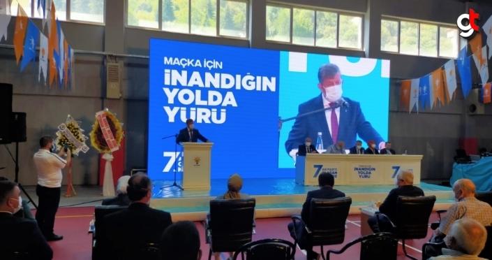 AK Parti Maçka ve Yomra ilçe kongreleri yapıldı