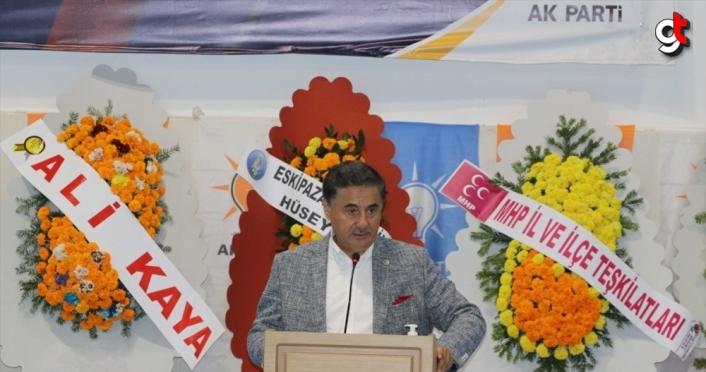 AK Parti'li Dağ, Karabük'te partisinin ilçe kongresinde konuştu: