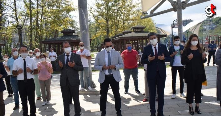Akçakoca'daki sel felaketinde hayatını kaybedenlerin isimleri anıtta yaşatılacak