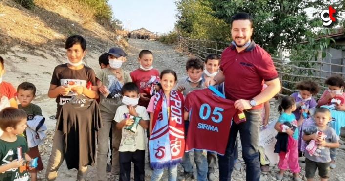 Amasya'da küçük Sırma Trabzonspor formasına kavuştu