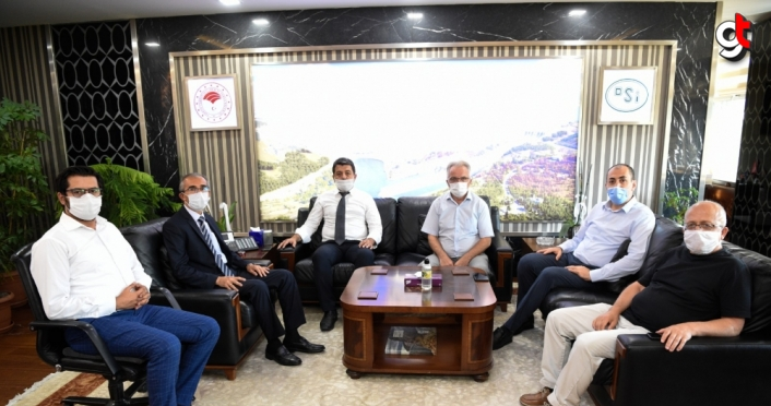 Ankara Uluslararası Batı Karadeniz Birliğinden DSİ Genel Müdürü Yıldız'a ziyaret