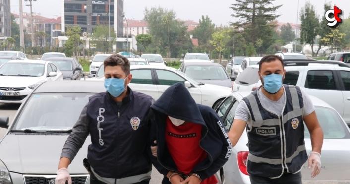 Bolu'da akü hırsızlığı şüphelisi tutuklandı