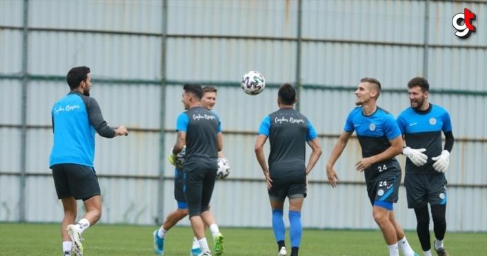 Çaykur Rizespor, Erzurumspor maçı hazırlıklarına başladı