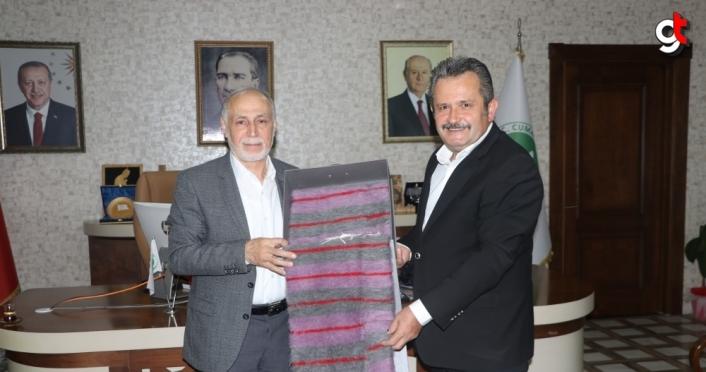 Darülaceze Başkanı Cebeci Düzce'de ziyaretler gerçekleştirdi