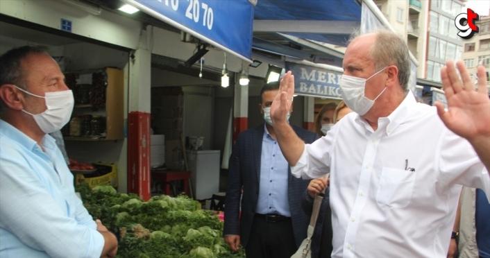 Eski CHP Milletvekili Muharrem İnce, Giresun'u ziyaret etti
