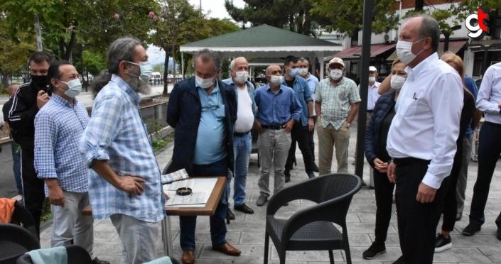 Eski CHP Milletvekili Muharrem İnce, Ordu'yu ziyaret etti