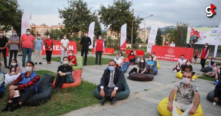 Gençlik ve Spor Bakanı Mehmet Muharrem Kasapoğlu, gençlerle bir araya geldi: