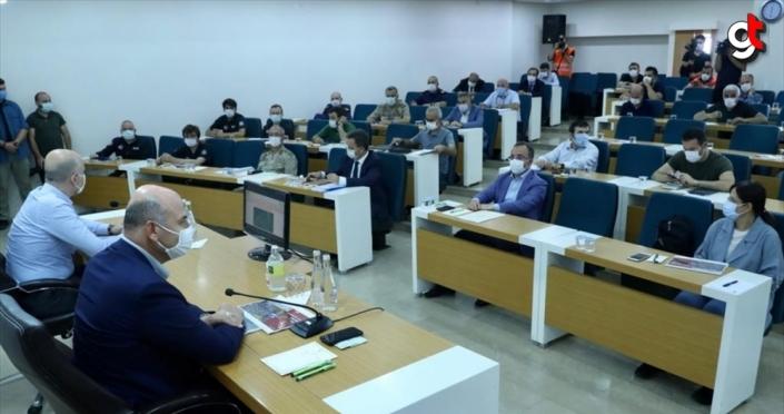 Giresun'da bakanların katılımıyla koordinasyon ve değerlendirme toplantısı yapıldı