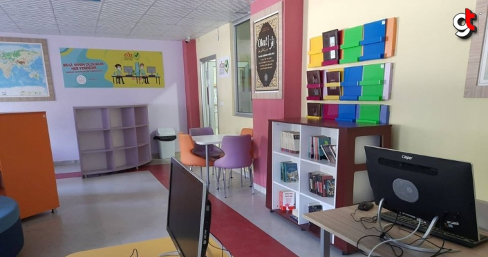 Gümüşhacıköy'de 7 okula