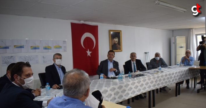 İBB Başkanı Ekrem İmamoğlu, Melen Barajı'nı inceledi: