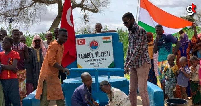 Karabük'ten Afrika'da su kuyusu