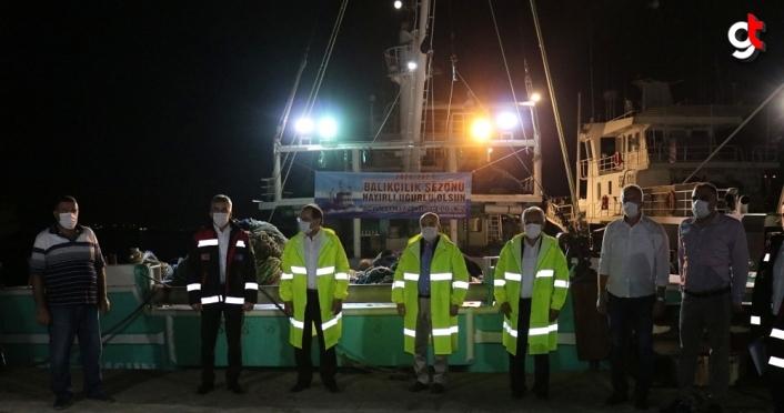 Karadeniz'de balıkçılar