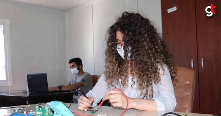 Kastamonu'da üniversiteli öğrenciler bilim ve teknolojiyle