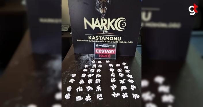 Kastamonu'da uyuşturucu operasyonunda yakalanan 1 kişi tutuklandı