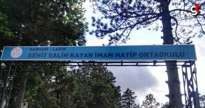 Ladik'te şehit Kayan'ın ismi okulda yaşatılacak