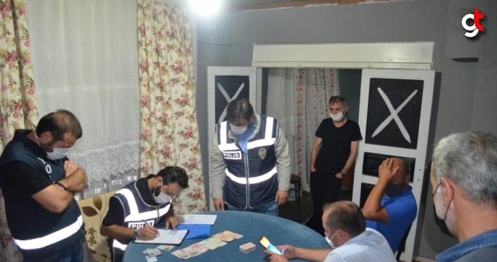 Ordu'da kumar oynayan 6 kişiye 18 bin 900 lira ceza
