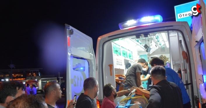 Ordu'da otomobille kamyonet çarpıştı: 4 yaralı