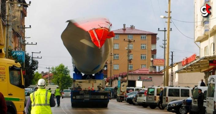 Ordu'da rüzgar enerjisi santrali kurulum çalışmaları başladı