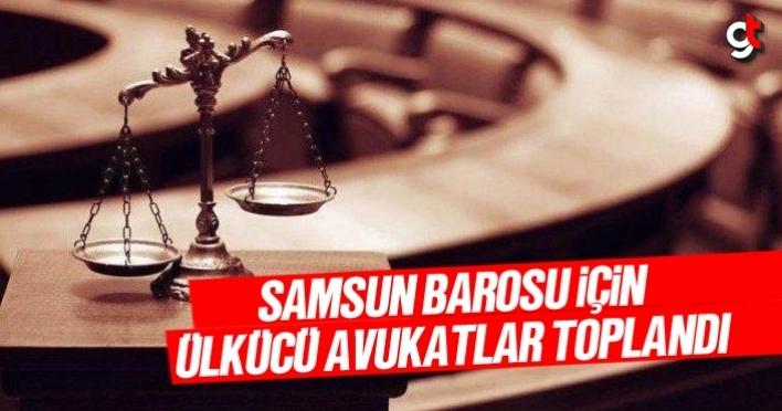 Samsun Barosu için Ülkücü Avukatlar Toplandı