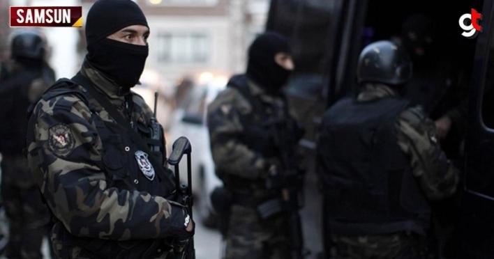 Samsun'da özel harekat destekli uyuşturucu operasyonu: 13 gözaltı