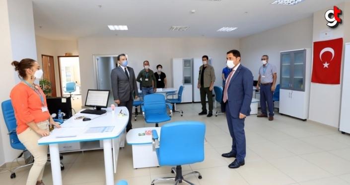 Samsun ve Amasya'da Kovid-19 tedbirlerine ilişkin denetim