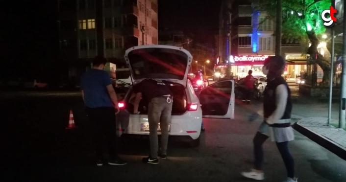 Samsun'da 250 polisle arama yapıldı