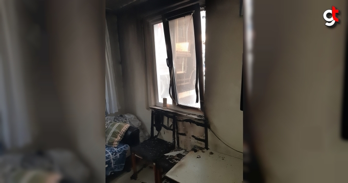 Samsun'da bir kişi eşinin babasının evini yaktı
