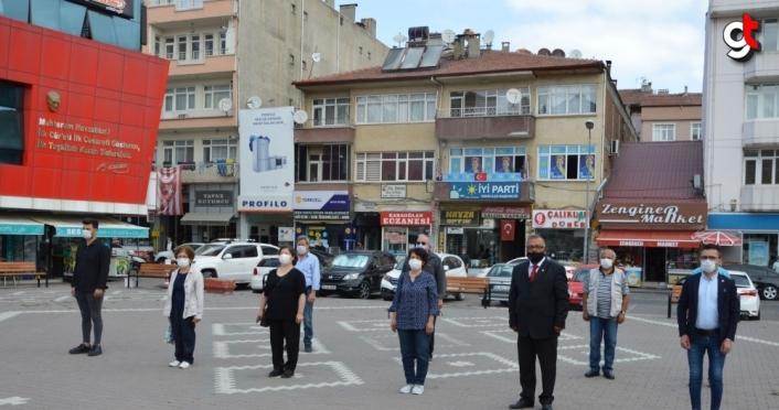 Samsun'da CHP'nin 97. yılı kutlandı