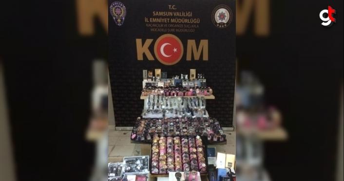Samsun'da faturasız saat ve parfüm satan Senegalli şüpheli yakalandı