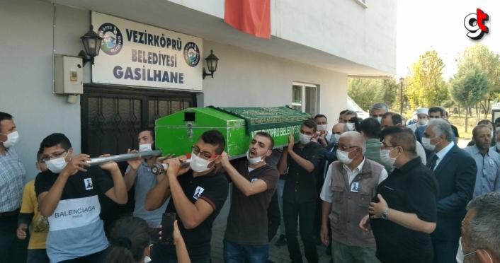 Samsun'daki bıçaklı kavgada ölen Suriyeli gencin cenazesi defnedildi