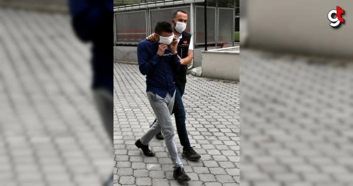 Samsun'daki uyuşturucu operasyonunda gözaltına alınan 6 şüpheli adliyede