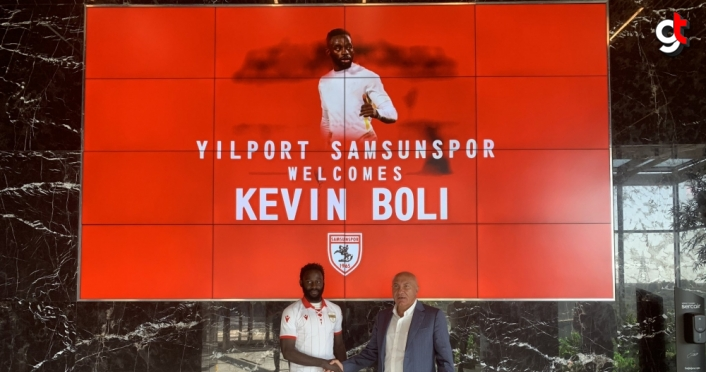 Samsunspor, Kevin Boli'yi transfer etti
