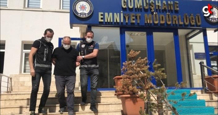 Trabzon'da saklandığı evde yakalanan FETÖ'nün mahrem imamı Gümüşhane'de tutuklandı