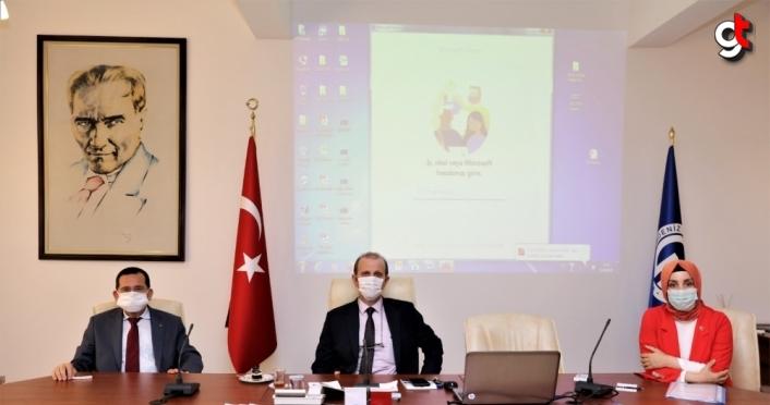 Trabzon'da yürütülen projeler görüşüldü