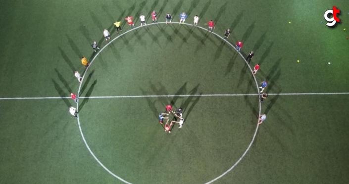 Veteranlardan Avrupa Spor Haftası etkinliği