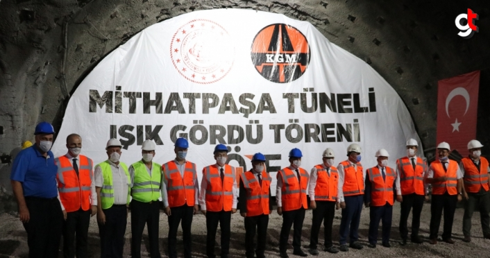 Zonguldak'taki Mithatpaşa tünellerinde ışık göründü