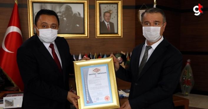 Amasya Üniversitesine TSE Kalite Yönetim Sistemi Belgesi verildi