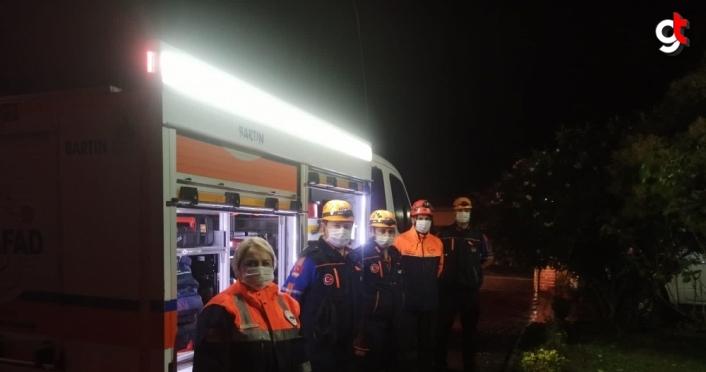 Bartın'dan deprem bölgesine arama kurtarma ekibi gönderildi