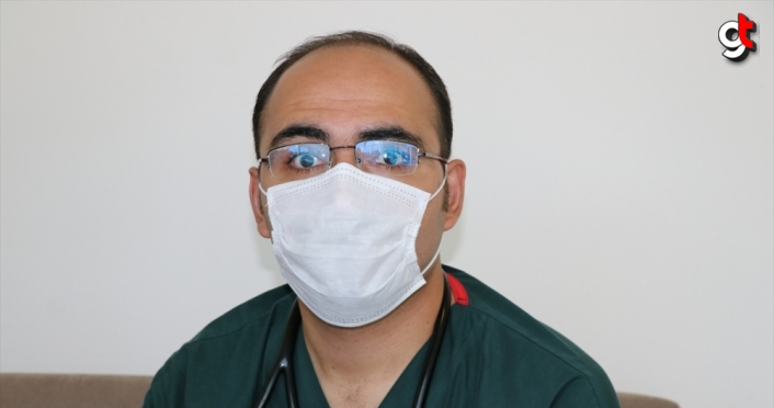 DOKTORLAR KOVİD-19'LA SAVAŞI ANLATIYOR - Koronavirüsü yenen iki doktordan kurallara uyulması çağrısı