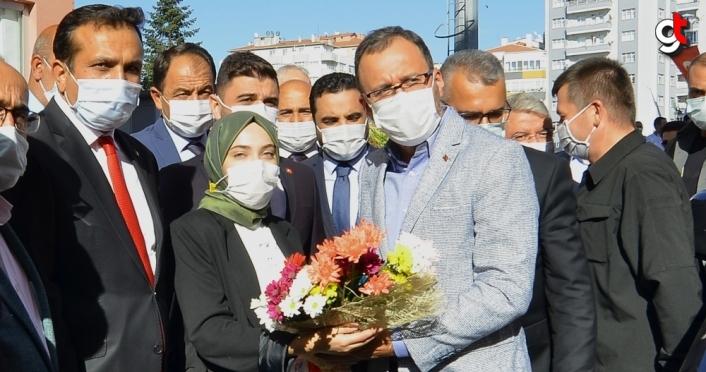 Gençlik ve Spor Bakanı Kasapoğlu, Çorum'da konuştu: