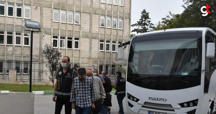 Samsun merkezli FETÖ operasyonunda yakalanan eski polislerden 8'ine daha adli kontrol