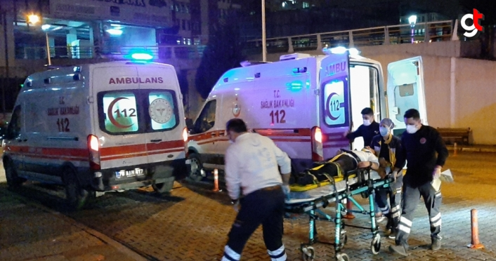 Karabük'te köpekten kaçarken çıktığı duvardan düşen kişi yaralandı